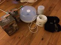 Baby steriliser, bottle warmer pump & thermos