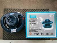 Car / floor polish machine