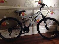 Silver Unisex Dunlop Sport Mountain Bike DS 26 - Like new!
