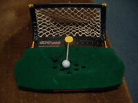Golf Swing practice mat and captive ball great to hone that swing !