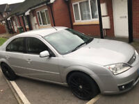 ford mondeo 2.0 tdci 102000 miles history to 82000 MOT UNTIL JAN 2018