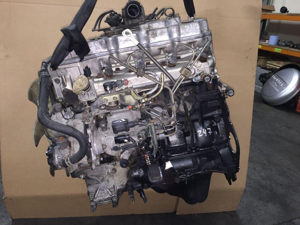 MITSUBISHI PAJERO 2.8 TD 4M40 WITH 78K COMPLETE ENGINE FOR ...