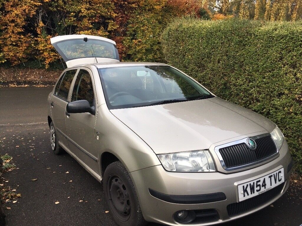 Skoda fabia for scrap or as a project