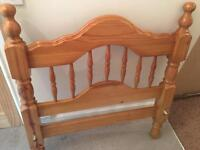Used Pine Bed Frame