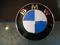 BMW OE STYLE BONNET & BOOT BADGES E36 E46 E 90 5 SERIES
