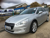 2012 PEUGEOT 508 HDI 2.0 DIESEL AUTO ,,PCO LICENCE,, SUPERB A1/toyota avensis/vw passat/automatic