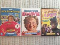 3 Mrs Brown DVD's