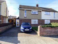 SOLD STC - ST CHADS DRIVE, GRAVESEND, KENT - £265,000 - SPACIOUS 2 BED SEMI-DETACHED HOUSE