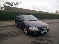 Volvo V40 Tdi 1.9 Full 12 Months Mot Timing Belt Changed Full Service History Great Drives Clean Car