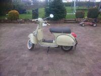 Vespa px125 scooter
