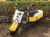 Yamaha Giggle (aka XF50 or C3). 49cc. 2008. 13600 miles