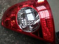Renault Clio drivers side rear (osr) lamp unit