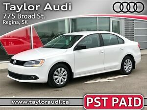 2013 Volkswagen Jetta 2.0L TRENDLINE+, PST PAID, 1 OWNER, LOCAL