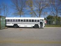 Great Vehicle for Camping & Hunting, BlueBird Bus 1995 Make