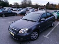 Low milage Toyota Avensis for sale