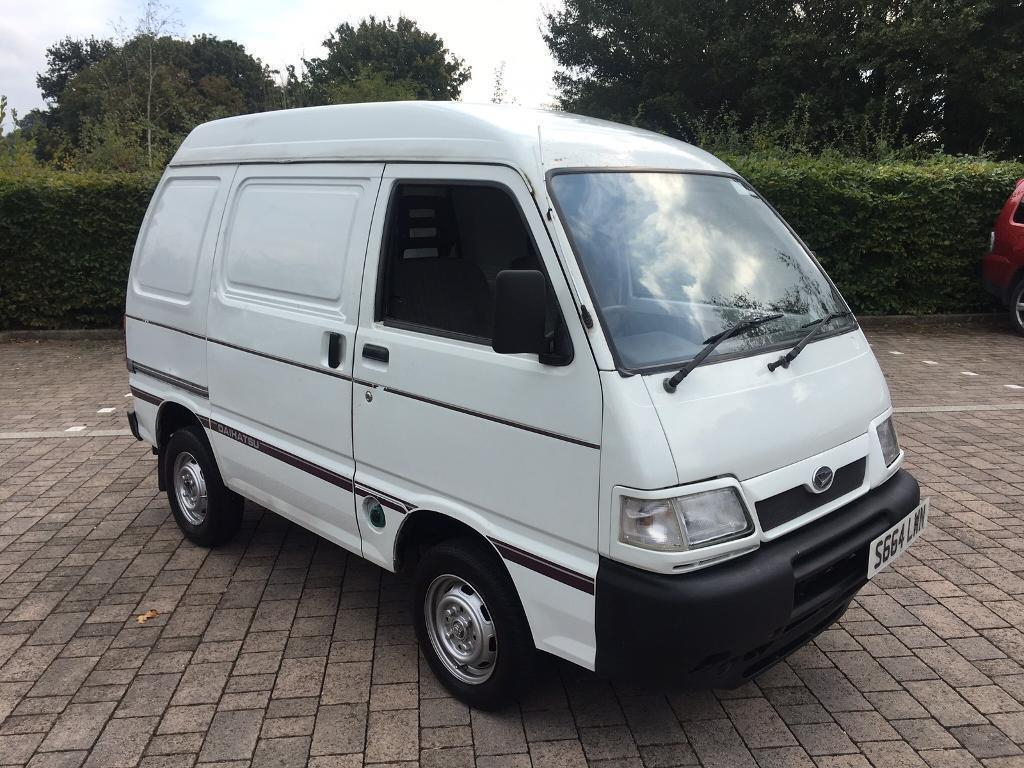 1998 daihatsu hijet 1 3 panel van june 2017 mot no vat suzuki carry bedford rascal in. Black Bedroom Furniture Sets. Home Design Ideas