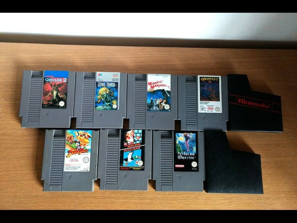 Retro Gaming - NES Nintendo Entertainment System Video Games Bundle - PAL A  (UK) Not Negotiable | in Aldershot, Hampshire | Gumtree
