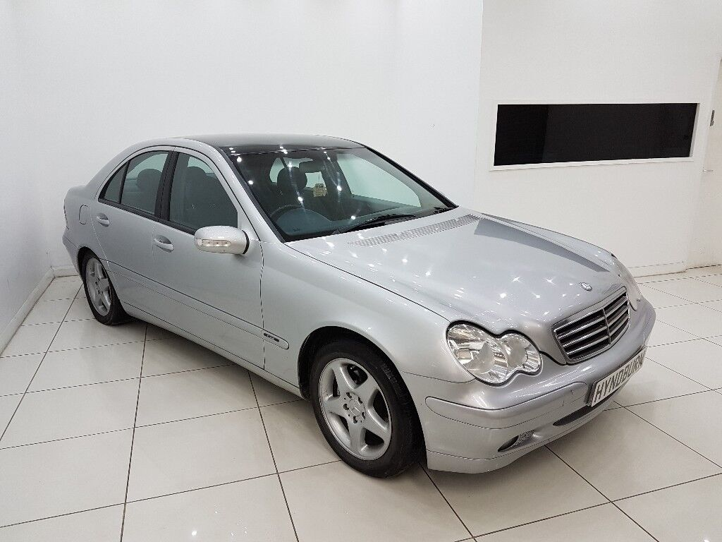Mercedes Benz C Class 21 C220 Cdi 4 Door 12 Month Mot Paint Immaculate