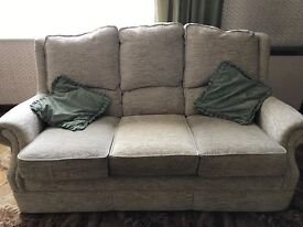 Three-piece suite for sale.