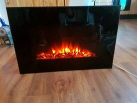 Swan Wall Mounted Electric Fire