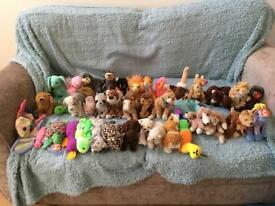 40 beanie babies for sale including some rare ones