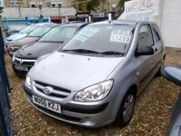 2006 Hyundai getz 1.4 petrol ideal first car full service history full MOT tidy car inside and out