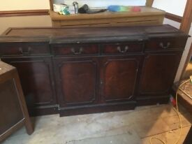 Free collection mahogany sideboard