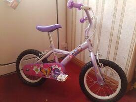 Girls bike age 3 - 6