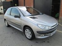 PEUGEOT 206 1.4 PETROL MANUAL 80,000 MILES Part exchange available / Credit & Debit cards accepted