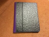 Apple iPad 2 3 4 air griffin case cover new black purple hearts