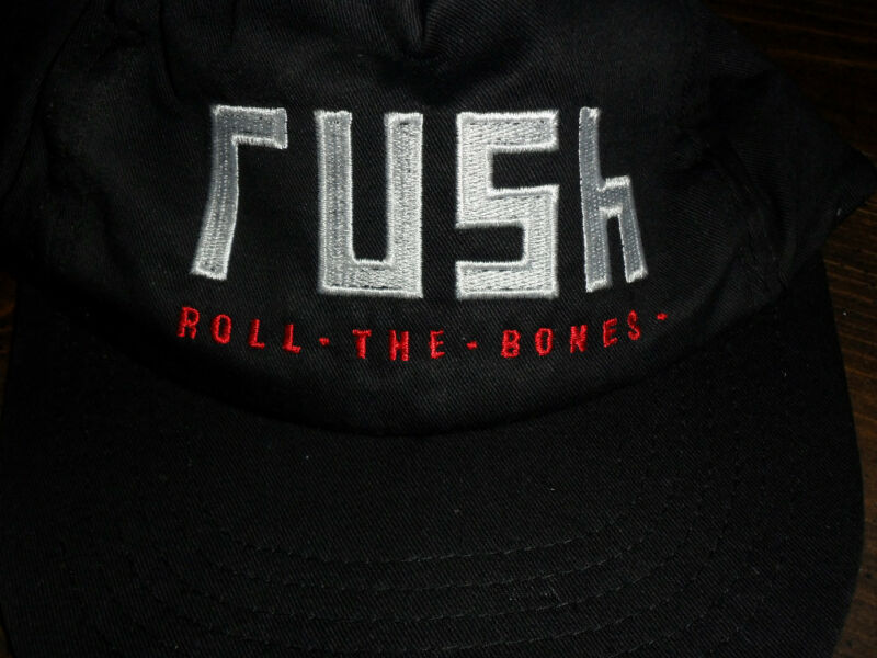 Rush signed Hat Roll The Bones Mr Big Autograph