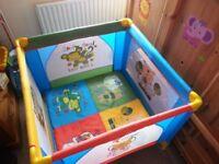 Baby Playpen/Travel cot