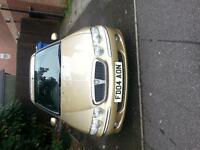 ROVER 45 ....12 MONTHS MOT ...BRAND NEW EXHAUST ALL THE WAY THROUGH INCLUDING CAT ..ALARMED ....
