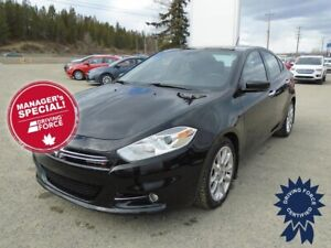 2016 Dodge Dart Limited 5 Passenger Front Wheel Drive, 2.4L Gas