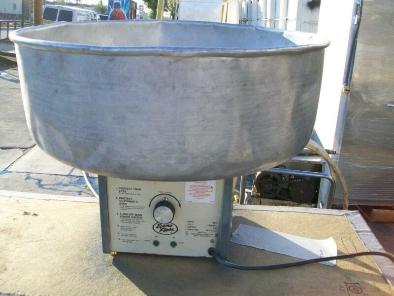 CANDY FLOSS OR COTTON CANDY MACHINE, 115 V, BIG HOPPER,