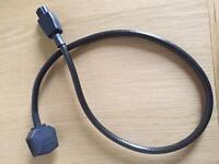 Heavy duty kettle lead for high end audio