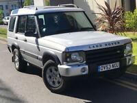 2004 LAND ROVER DISCOVERY 2.5 TD5 V6 AUTOMATIC 7 SEAT