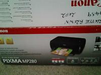 Canon Pixma MP280 all-in-one print-copy-scan, used