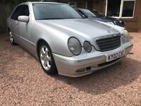 Cheap MERCEDES E220 CDI long MOT Automatic Leather fully serviced just now