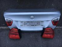 E90 3 series boot lid rear lights and headlights