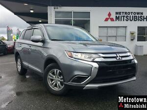 2016 Mitsubishi Outlander ES 4WD; CERTIFIED PRE-OWNED!