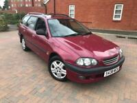1998/S TOYOTA AVENSIS 2.0 GLS AUTOMATIC ESTATE 1 LADY OWNER FSH