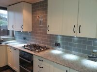Honest & reliable time served tile fitting professional. Splash backs supplied and fitted from £220.