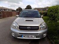 Toyota Rav4 3dr 2.0l Diesel, 2 keys+valet, Full SH, new clutch, brakes+fuel injectors, MOT JAN 18,