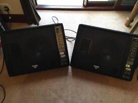 Laney CXP112 Monitors x2