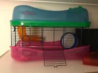Hamster cage for sale. £18