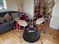 Olympic Premier Drum Kit (Wine Red)
