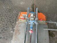 Rubi TS 60 manual tile cutter