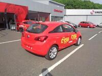 Vauxhall Corsa ENERGY AC ECOFLEX (red) 2017-03-31