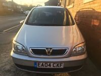 2004 Vauxhall Zafira MPV 2.0 DTi 16v Design 7 Seater 5dr Quick sale! Very cheap! Part Ex!